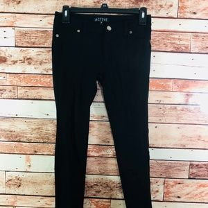 Active USA Black Skinny Pants